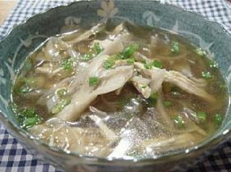 ちょ~簡単な舞茸スープ